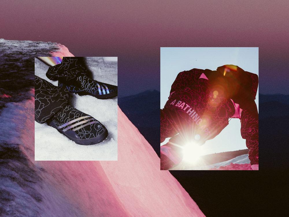 adidas Snowboarding by BAPE® — snowboardové vybavení — podzim/zima 2018