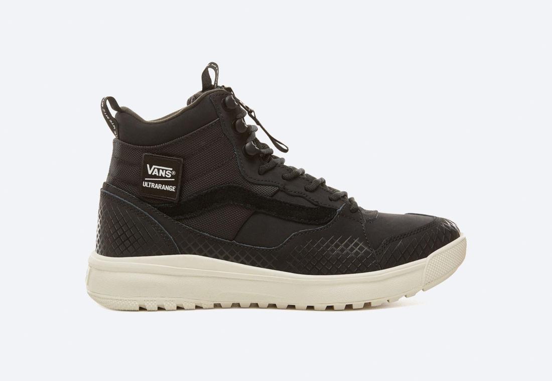 Vans Ultrarange Hi MTE — zimní boty — kotníkové — vysoké — pánské, dámské — černé