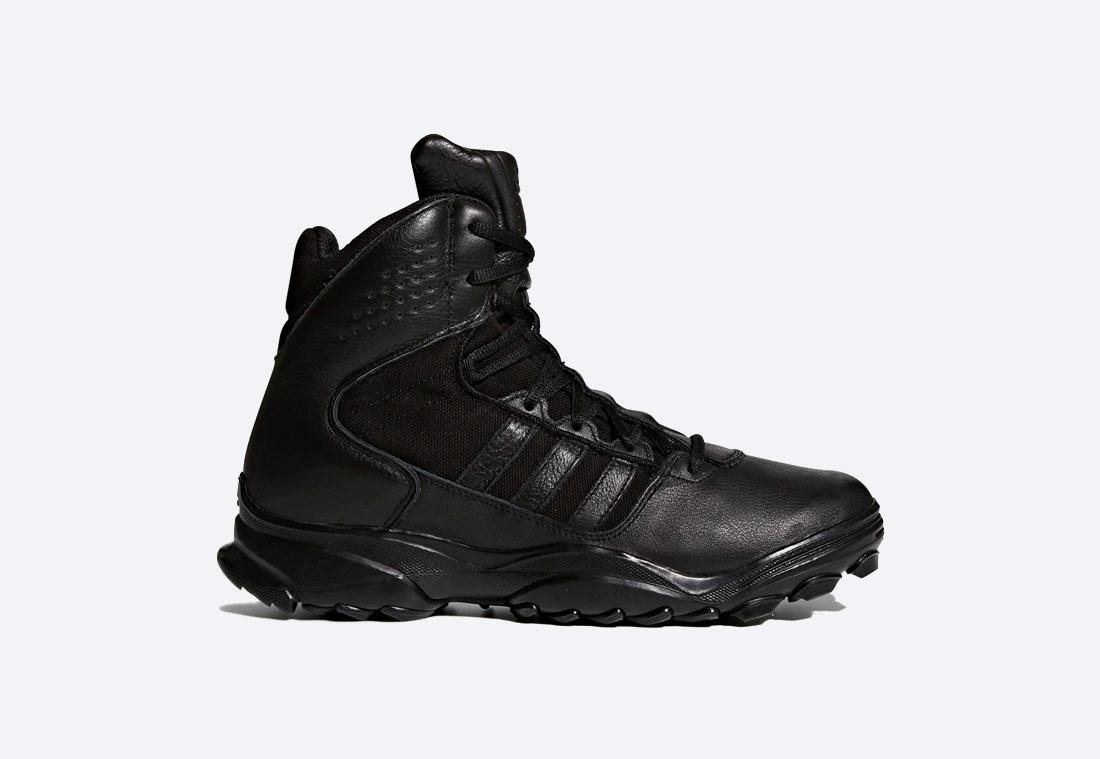 adidas GSG-9.7 — outdoorové boty, taktické — vysoké — zimní — pánské — černé