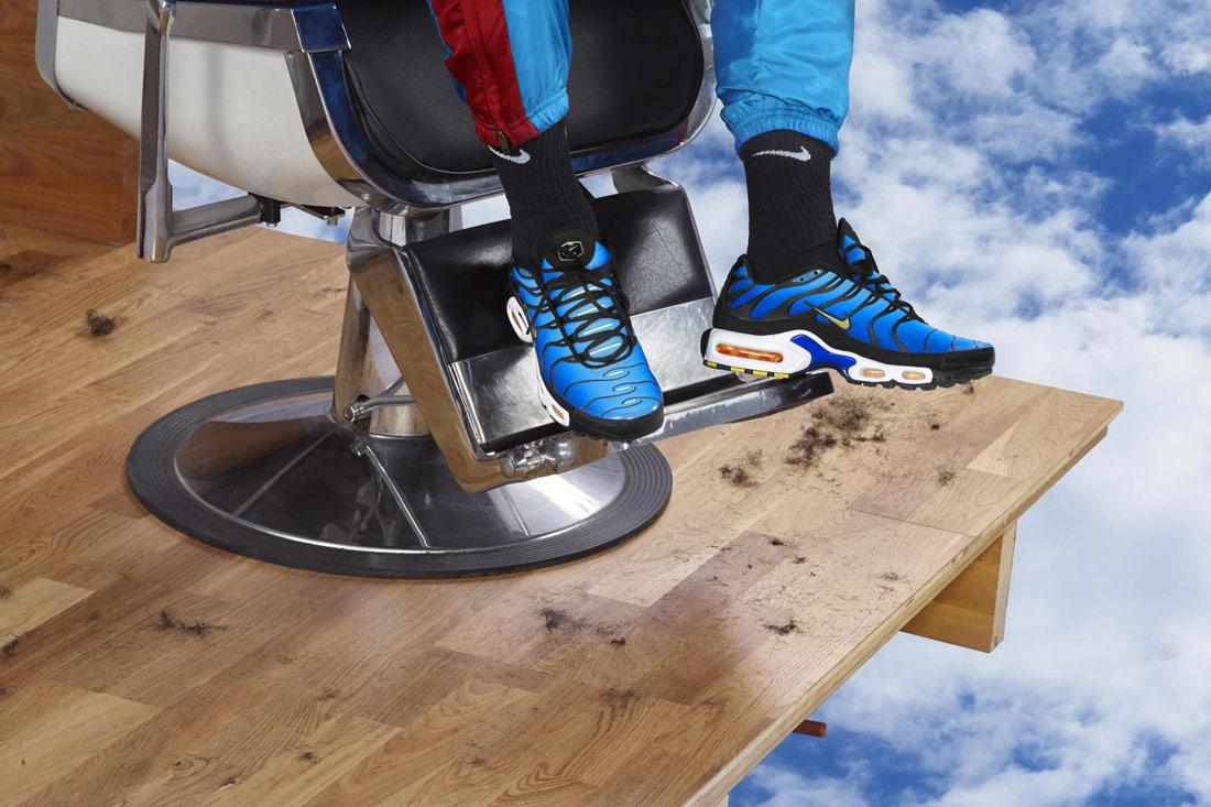 Nike Air Max Plus Hyper Blue — boty — tenisky — sneakers — pánské, dámské — modré