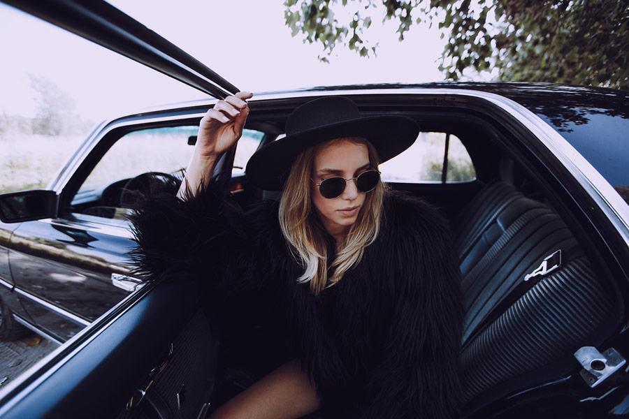 Paris+Hendzel — zimní klobouk Bolero — dámský — černý