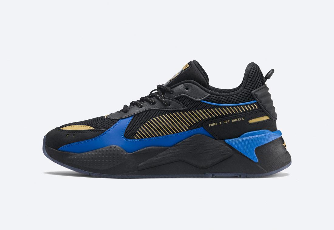 PUMA RS-X TOYS HOT WHEELS 16 — boty — sneakers — černé