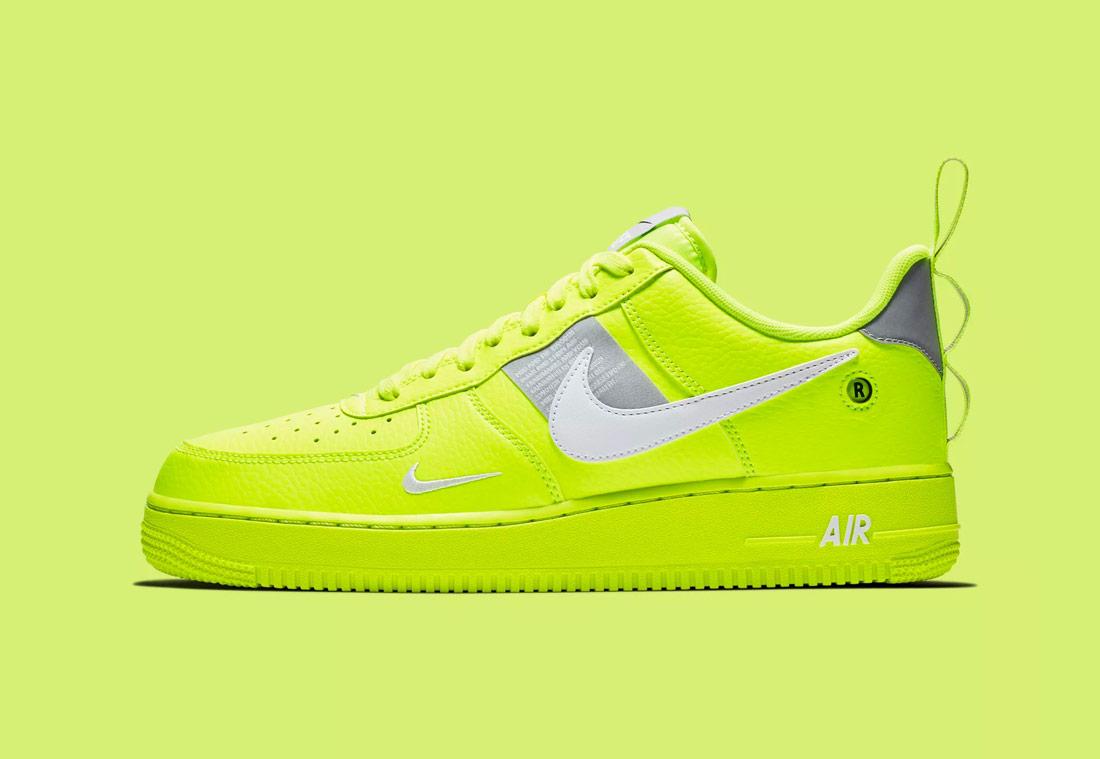 Nike Air Force 1  07 LV8 Utility — pánské boty — tenisky — sneakers — 8749a2b778
