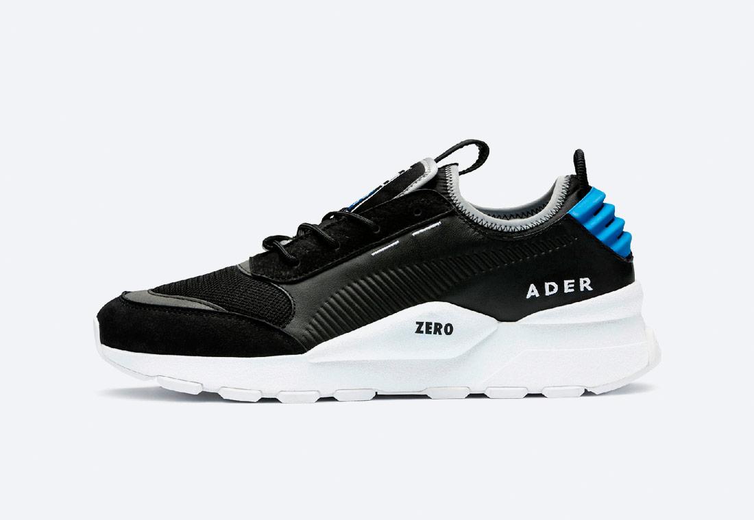 PUMA x ADER ERROR RS-0 — boty — tenisky — sneakers — pánské, dámské — černé