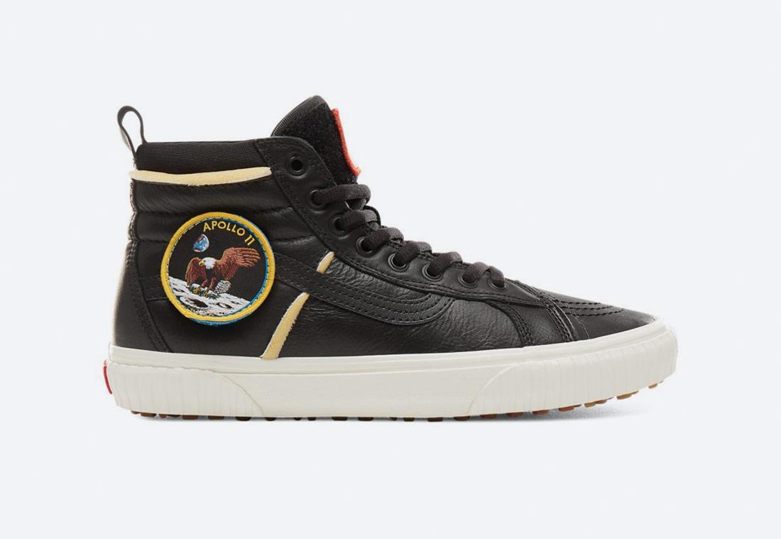 Vans x NASA — Space Voyager Sk8-Hi 46 Mte Dx — kotníkové boty — tenisky — sneakers — černé — pánské, dámské