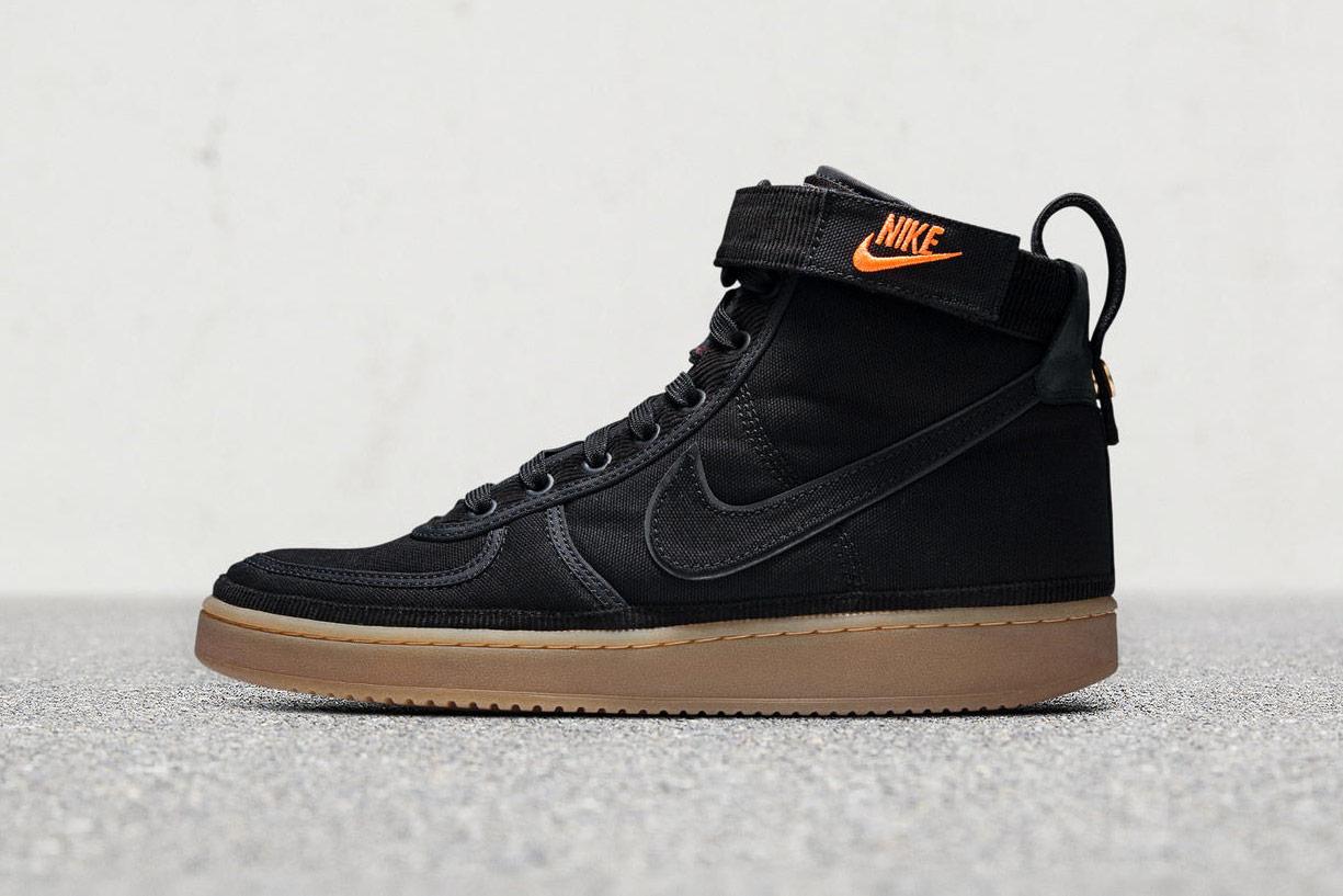 Carhart WIP x Nike Vandal Supreme High — kotníkové boty — černé — pánské, dámské