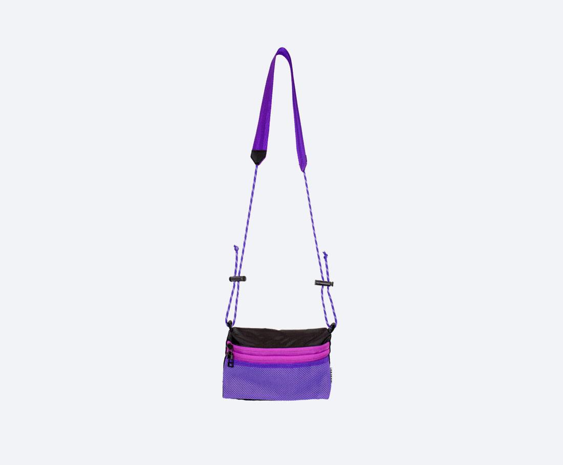 Taikan Sacoche Small — taška přes rameno na drobnosti — taštička na krk — dámská, pánská — fialová