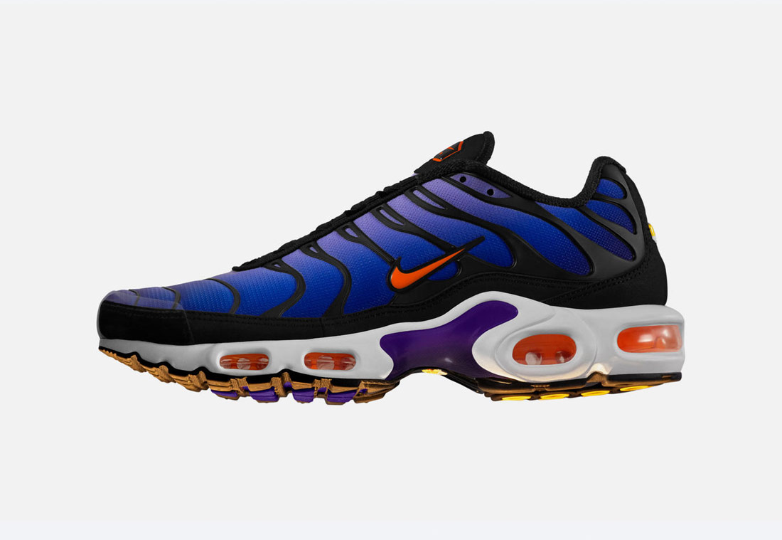 Nike Air Max Plus Purple — boty — tenisky — sneakers — pánské, dámské — fialové