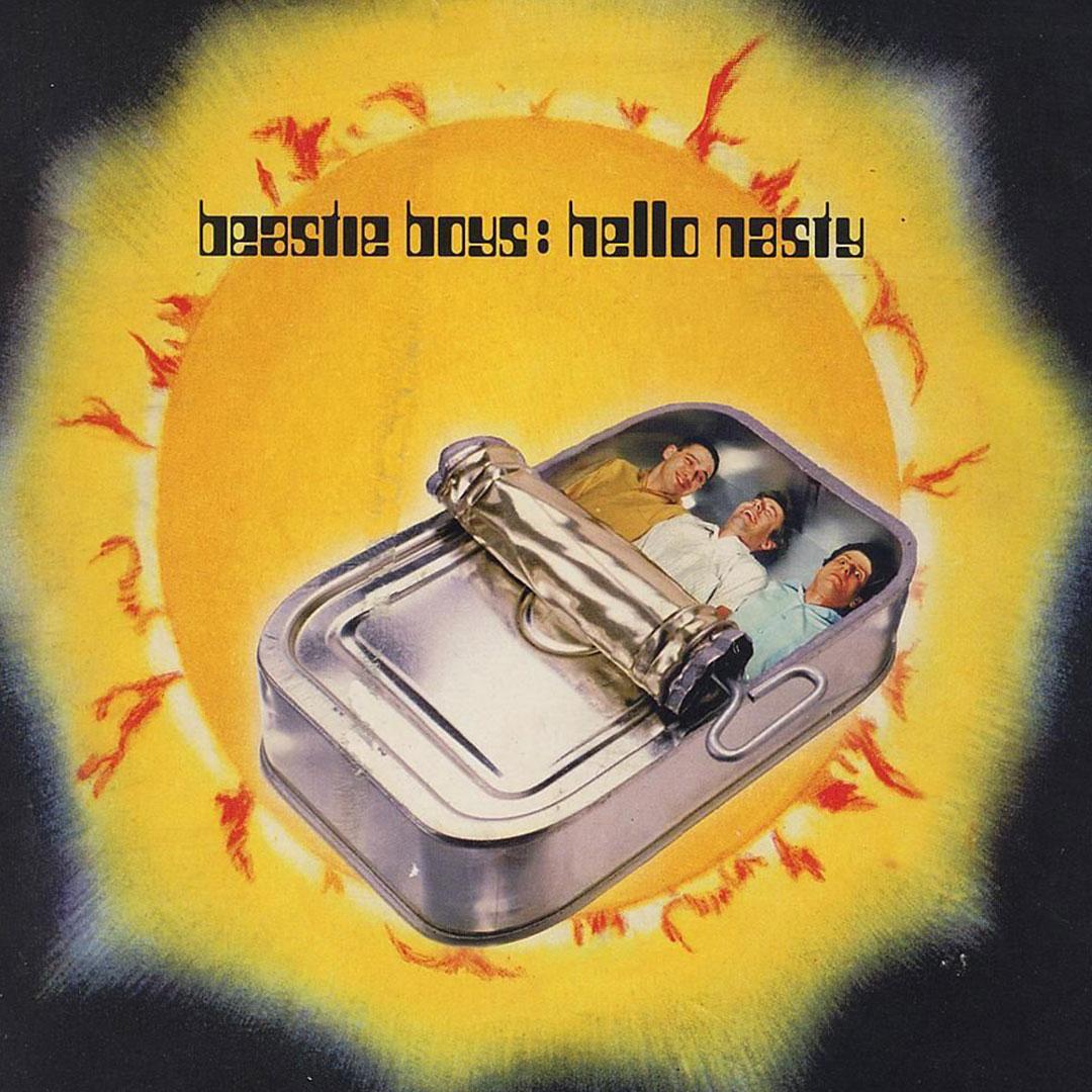 Beastie Boys: Hello Nasty (album cover)