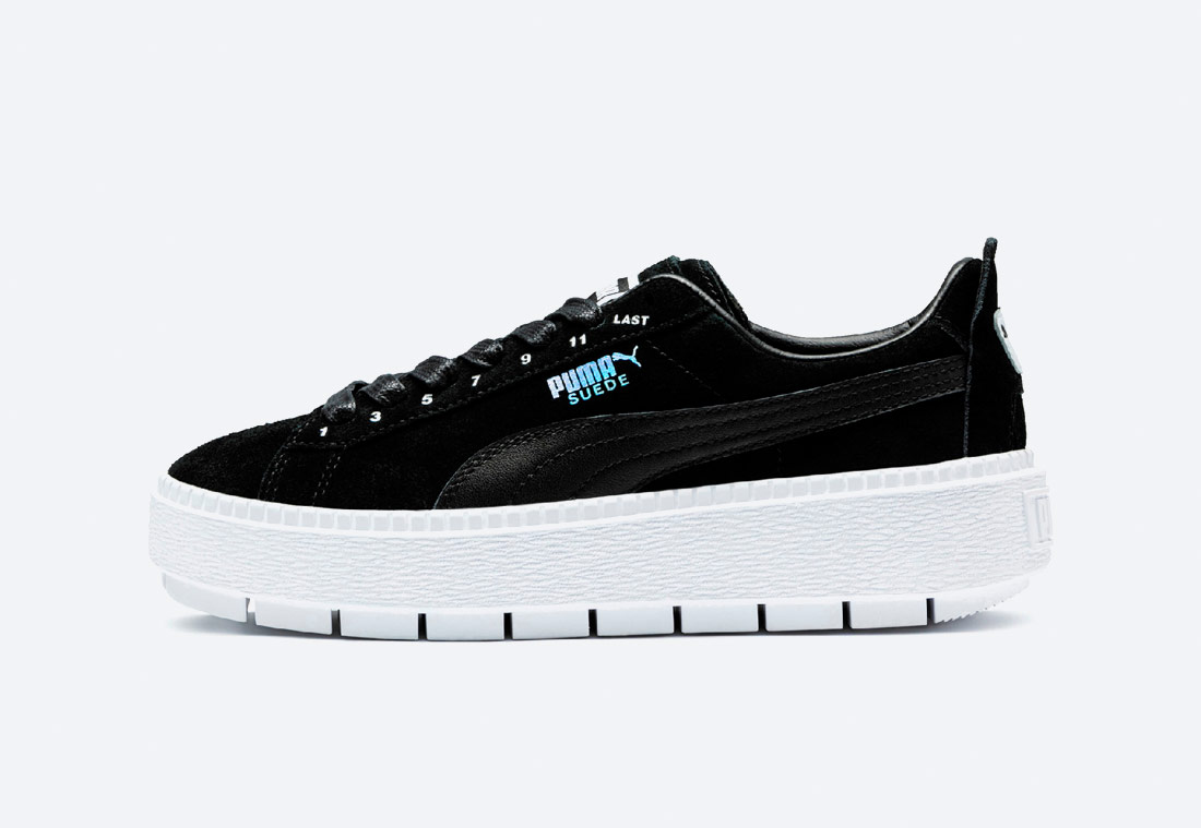 PUMA x ADER ERROR Platform Trace — boty — tenisky — sneakers — pánské, dámské — černé