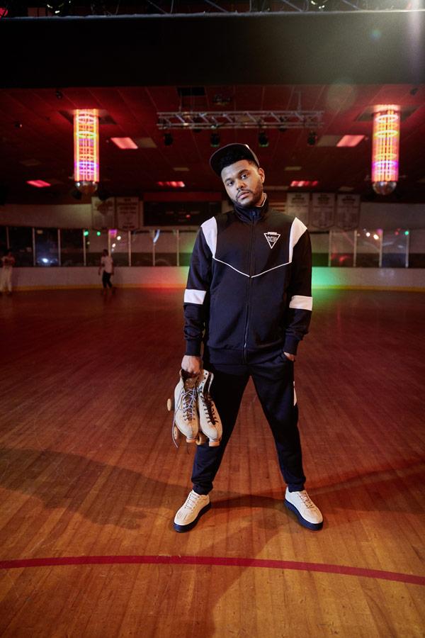 PUMA x XO — boty Terrains Sneakers — sportovní old school černá bunda — černé tepláky — AW 18