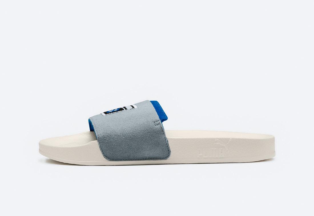 PUMA x ADER ERROR Leadcat Slide — pantofle — nasouváky — slides — pánské, dámské — šedé