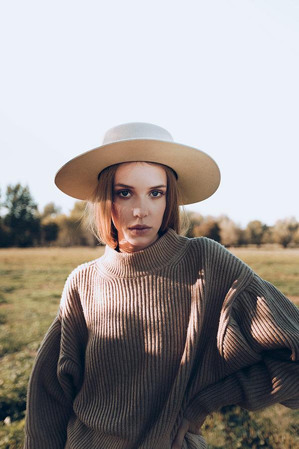 Paris+Hendzel — zimní klobouk Bolero — dámský — béžový