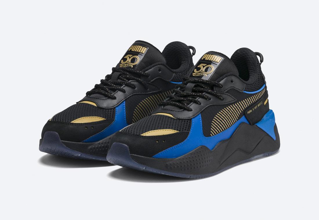 PUMA RS-X TOYS HOT WHEELS 16 — černé boty — sneakers