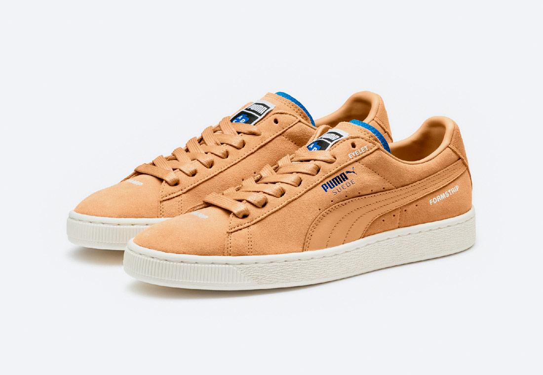 PUMA x ADER ERROR Suede — boty — tenisky — sneakers — pánské, dámské — béžové