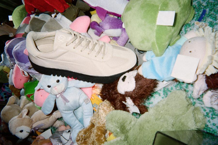 PUMA x XO — boty Terrains Sneakers — béžové — AW 18