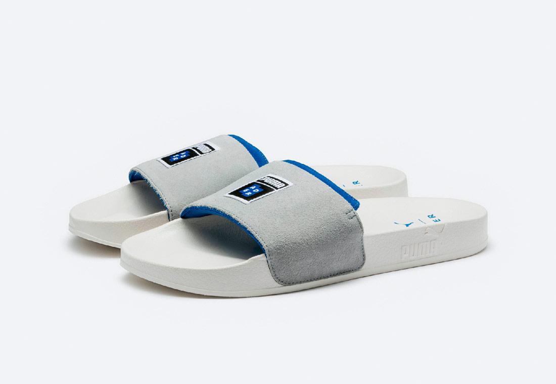 PUMA x ADER ERROR Leadcat Slide — boty — tenisky — sneakers — pánské, dámské — šedé