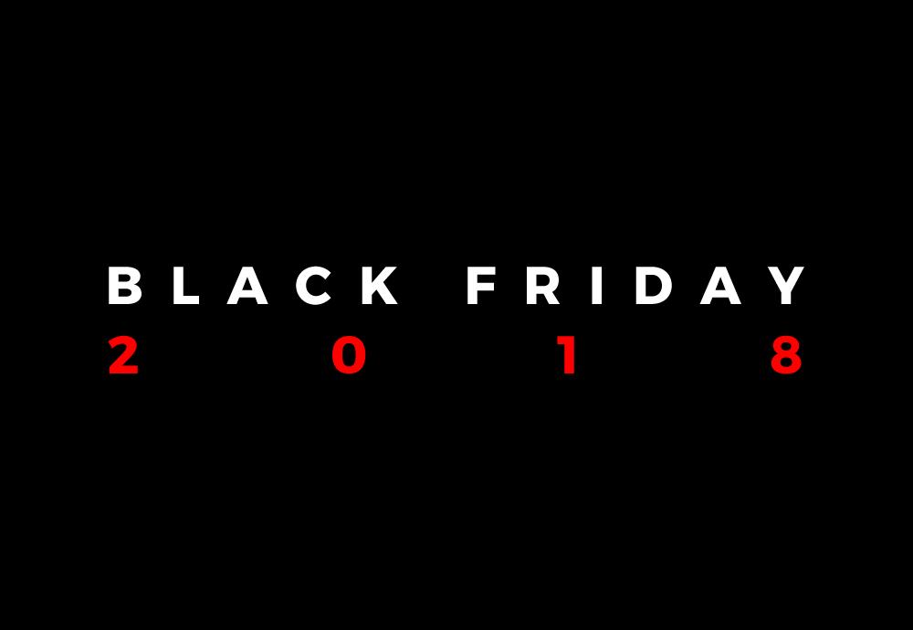 Black Friday — černý pátek — 2018 — předvánoční slevy — Cyber Monday