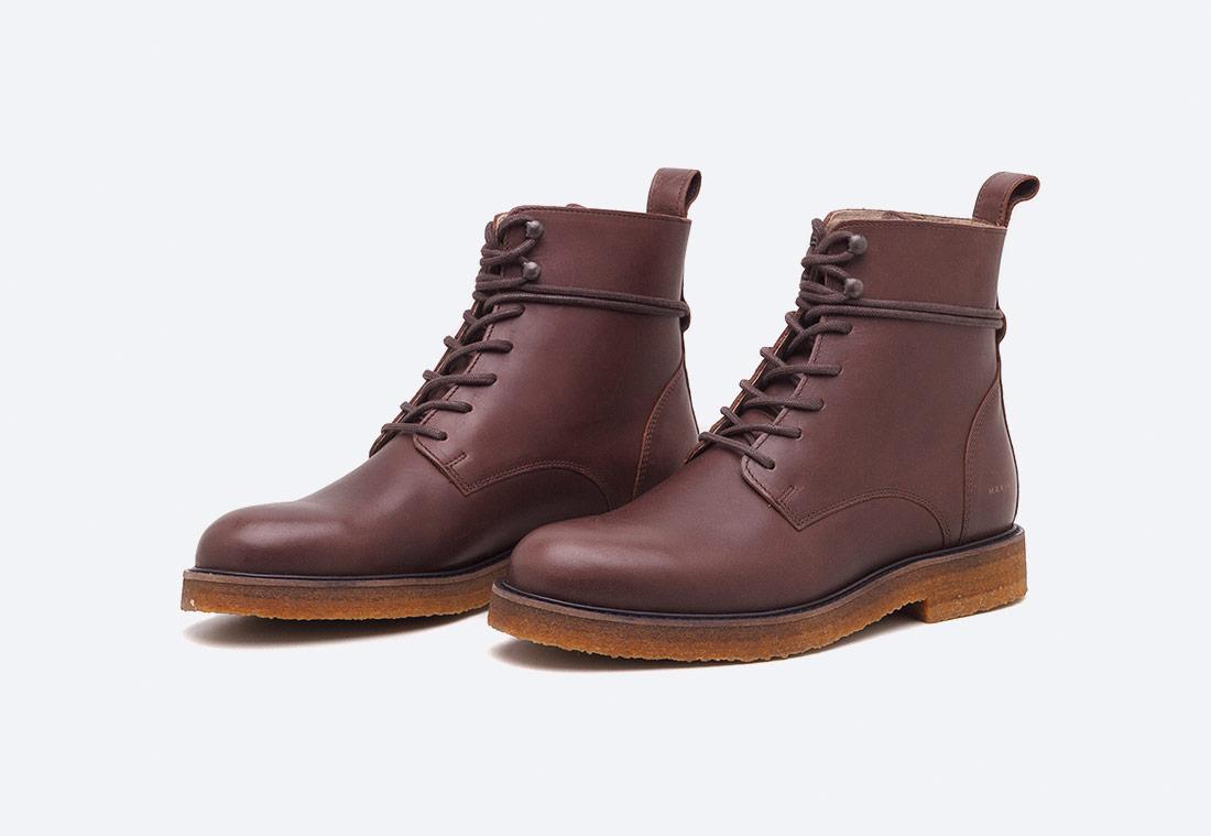 Makia Province – zimní boty – boots – pánské – vysoké – vycházkové – hnědé