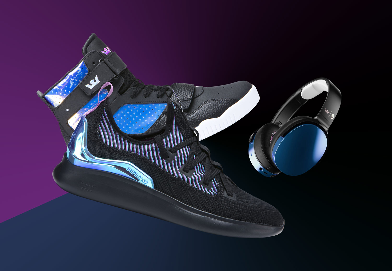 Supra x Scullcandy — Supra Factor — Supra Breaker — Scullcandy Hesh 3 Phones