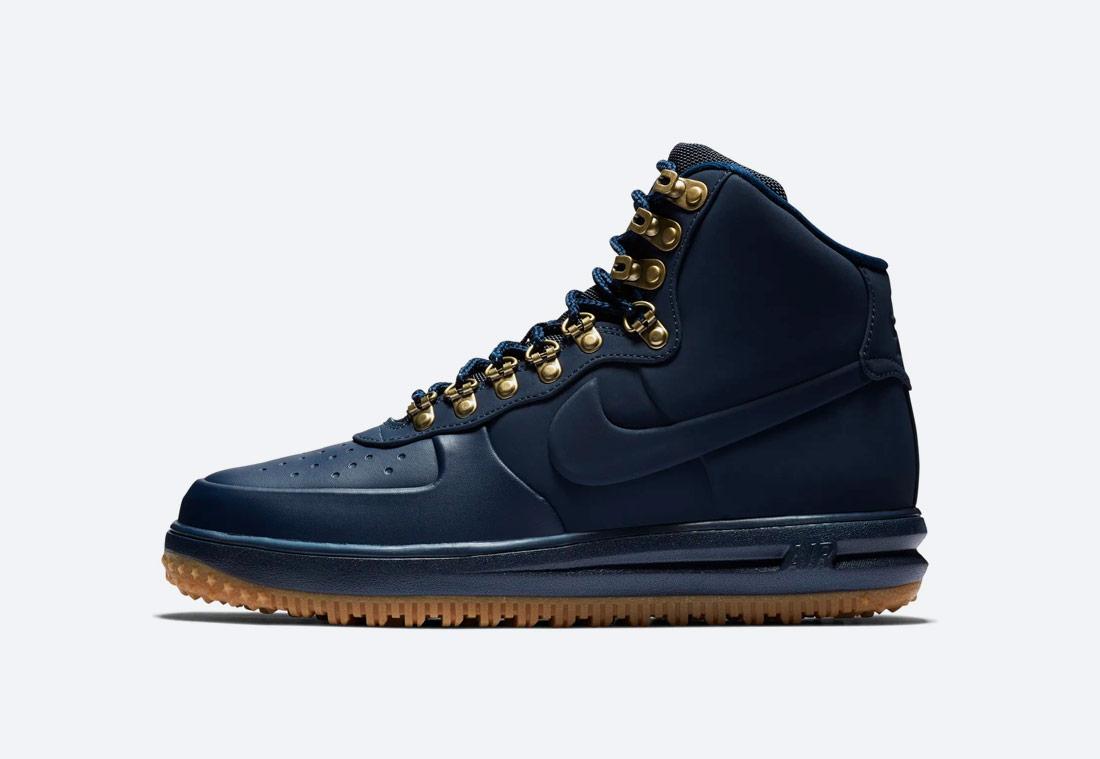 Nike Lunar Force 1 '18 — zimní boty — pánské — kotníkové