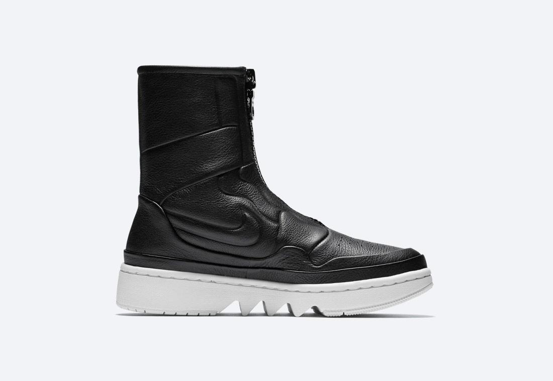 Nike Air Jordan 1 Jester XX — dámské zimní boty bez tkaniček — vysoké — černé