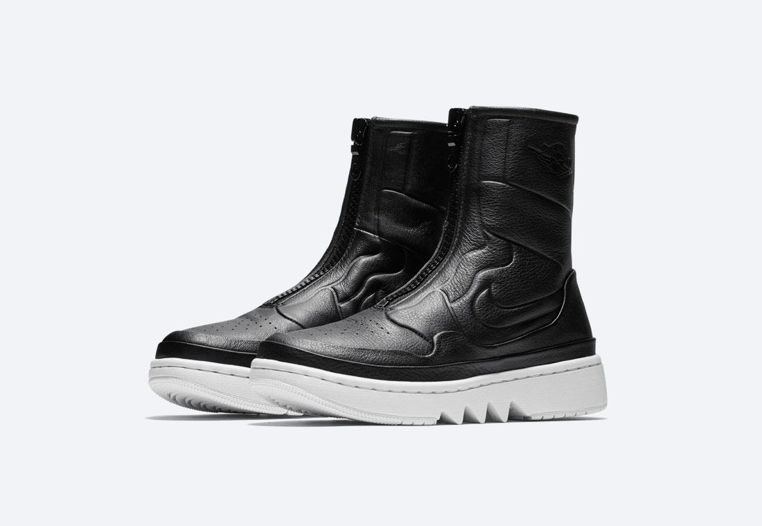 Nike Air Jordan 1 Jester XX — vysoké dámské boty bez tkaniček — zimní — černé
