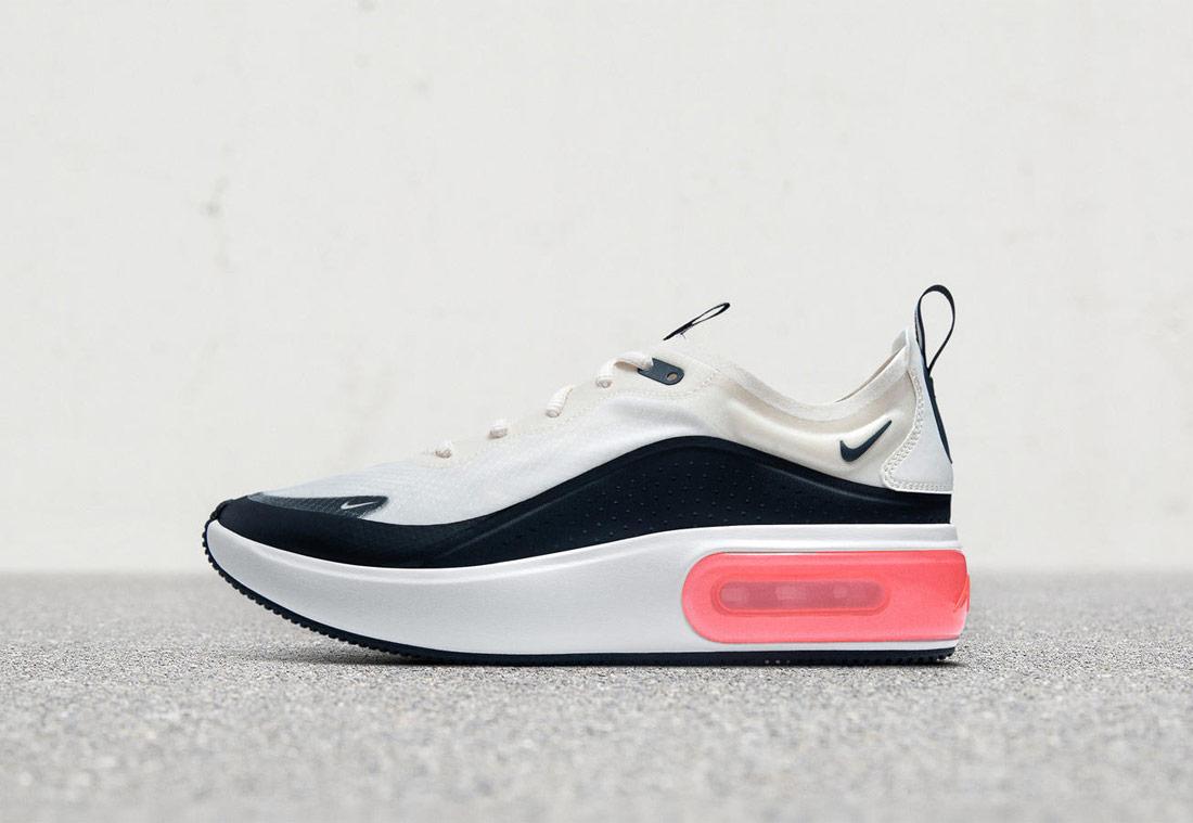 Nike Air Max Dia — dámské tenisky — sneakers — boty — černo-bílé