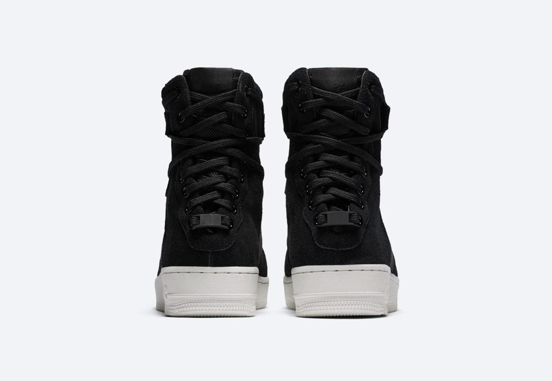 Nike Air Force 1 Rebel XX Premium — dámské zimní boty — kotníkové — černé