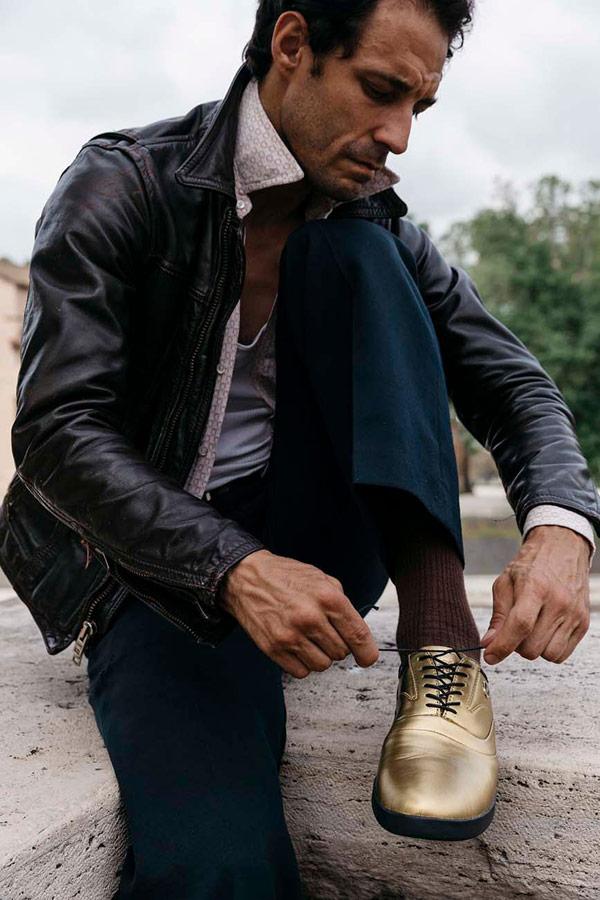 Supra Greco — polobotky — pánské — boty — kožené — zlaté ... 25d4e61e5c