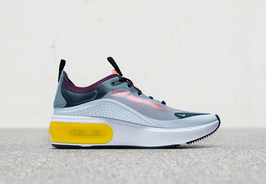 Nike Air Max Dia — dámské sneakers — boty — tenisky — oranžové-růžové