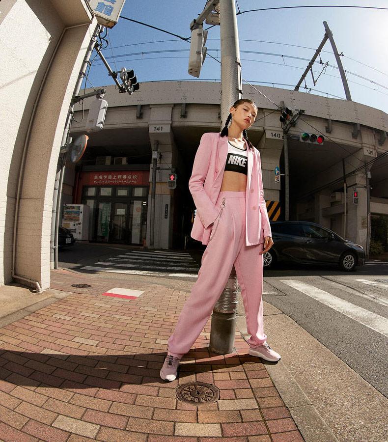 Nike Air Max Dia — dámské boty — sneakers — tenisky — růžové — look