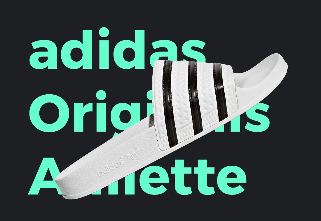 adidas Originals Adilette — pantofle