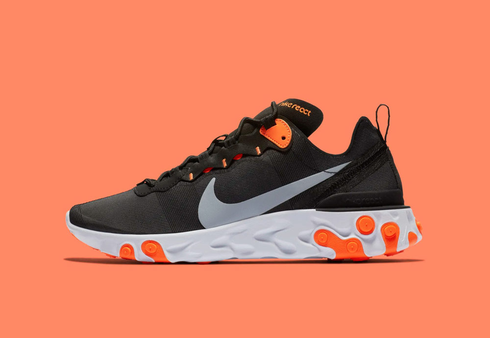 Nike React Element 55 — boty — sneakers