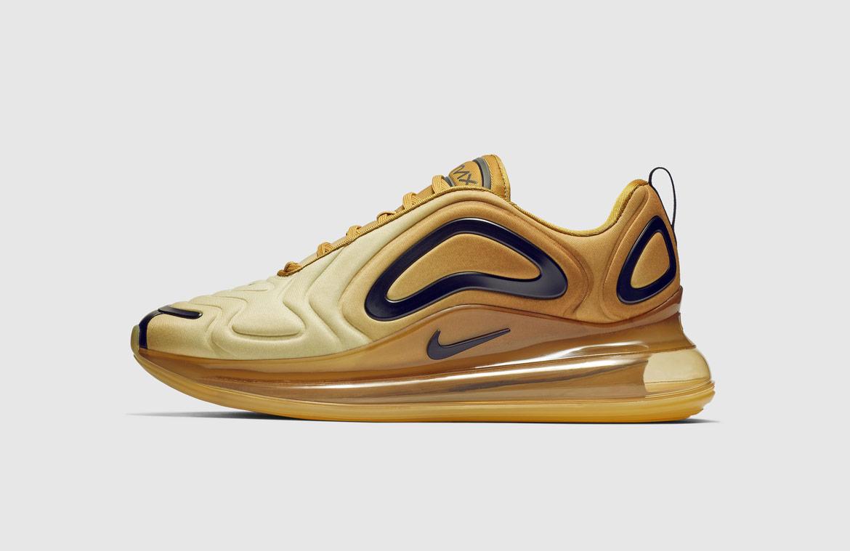 Nike Air Max 720 — boty — zlaté — gold — sneakers — tenisky — Airmaxy