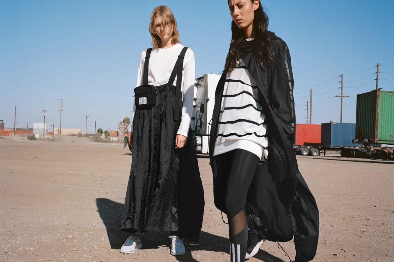Y-3 — oblečení, boty, doplňky — Yohji Yamamoto x adidas — lookbook — spring/summer — jaro/léto 2019