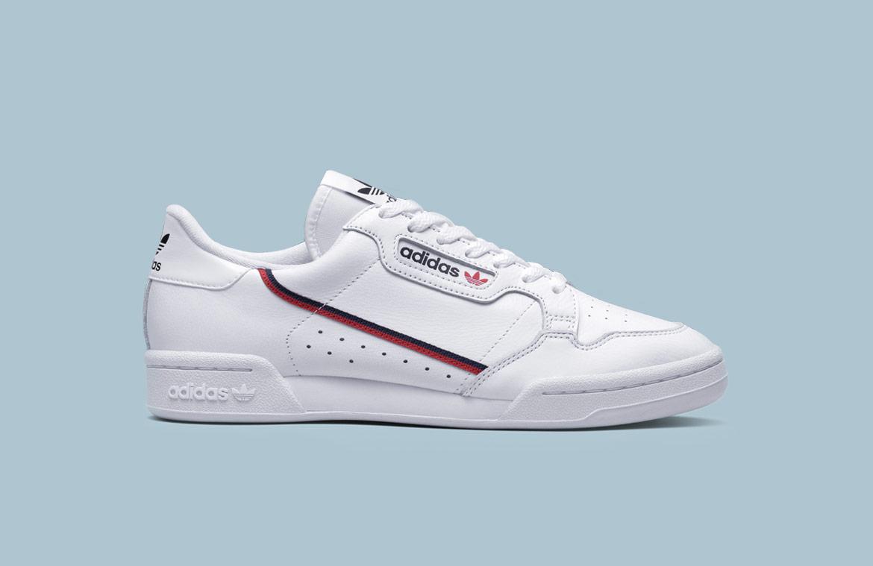 adidas Originals Continental 80 — boty — tenisky — pánské, dámské — sneakers — bílé