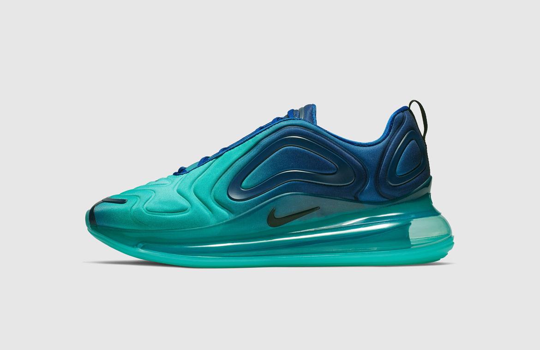 Nike Air Max 720 — boty — zelené — green — Sea Forest — sneakers — tenisky — Airmaxy