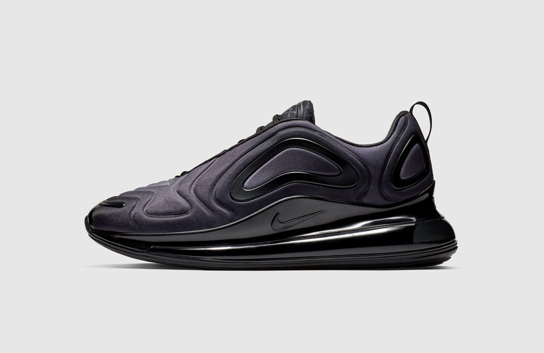 Nike Air Max 720 — boty — černé — black — Total Eclipse — sneakers — tenisky — Airmaxy