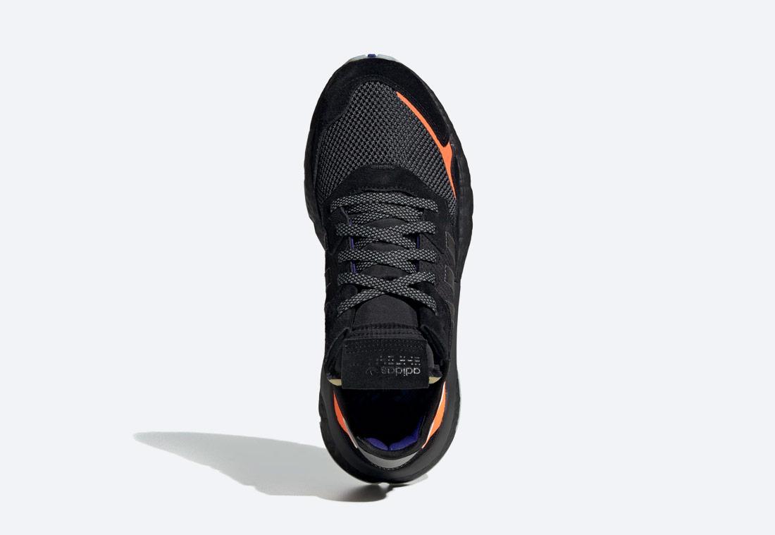 adidas Originals Nite Jogger Boost — reflexní boty — běžecké — černé — retro tenisky — sneakers — pánské, dámské