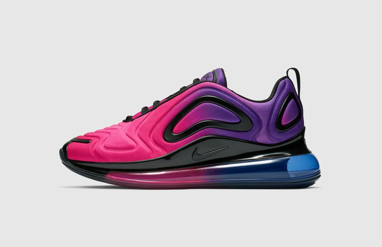 Nike Air Max 720 — boty — růžové, fialové — pink, purple — Sunset — sneakers — tenisky — Airmaxy