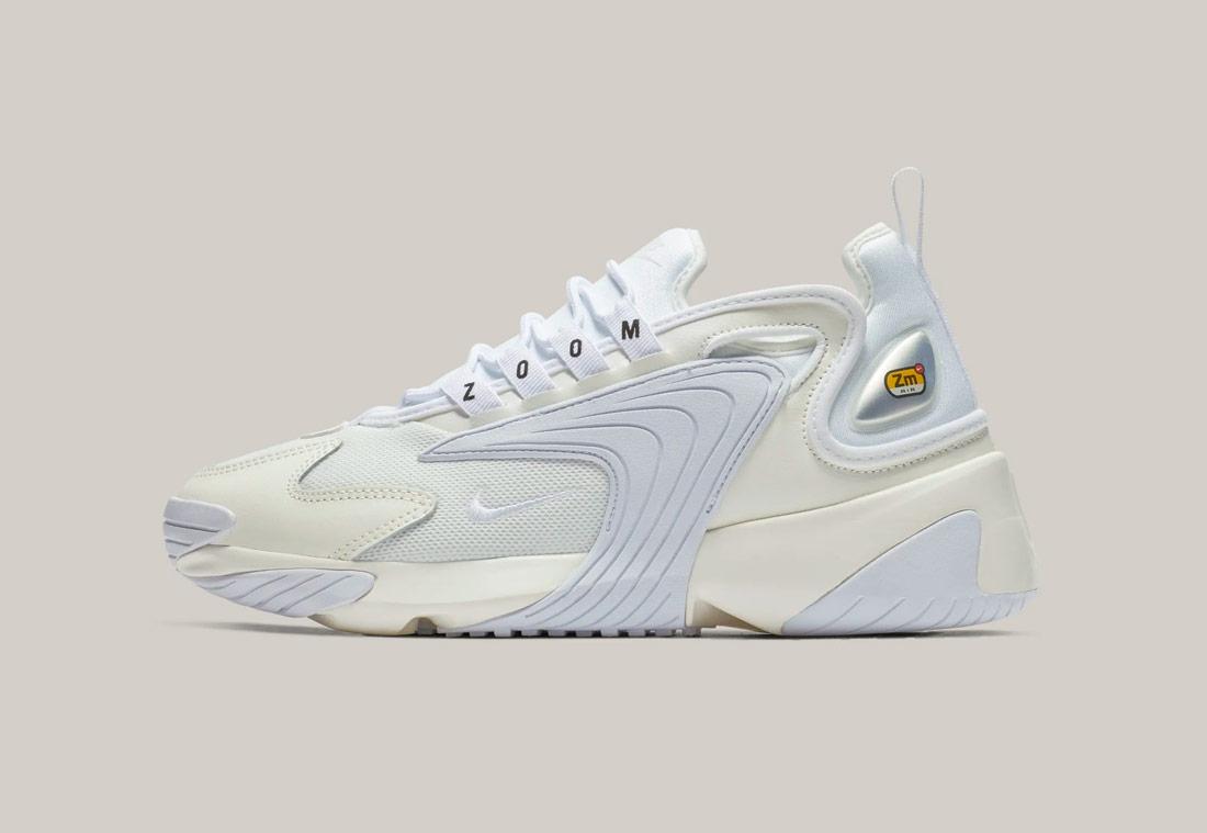 Nike Zoom 2K — dámské boty — smetanově bílé — sneakers