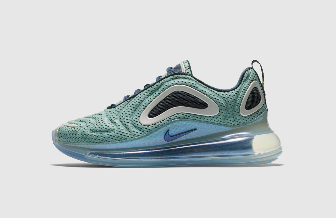 Nike Air Max 720 — boty — zelené, modré — green, blue — Northern Lights Day — sneakers — tenisky — Airmaxy