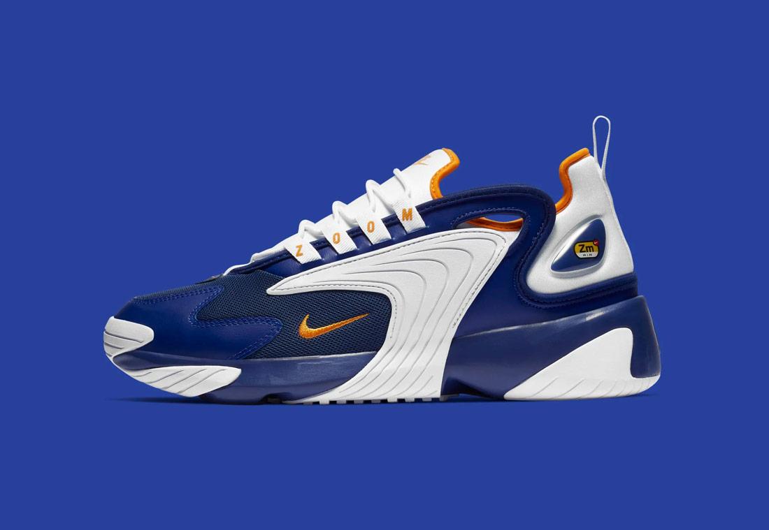 Nike Zoom 2K — pánské boty — bílo-modré — sneakers
