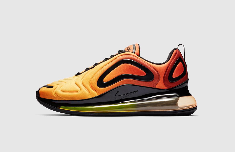 Nike Air Max 720 — boty — oranžové — orange — Sunrise — sneakers — tenisky — Airmaxy