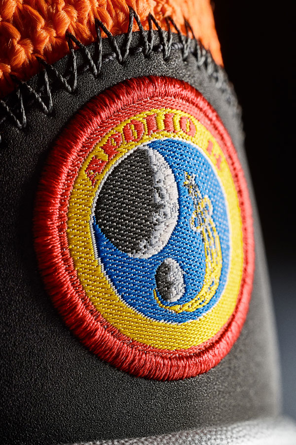 Nike PG3 — Paul George — boty — Apollo 14 nášivka — detail — NASA