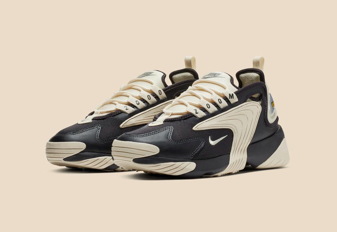 Nike Zoom 2K — dámské boty — smětanovo-černé — sneakers