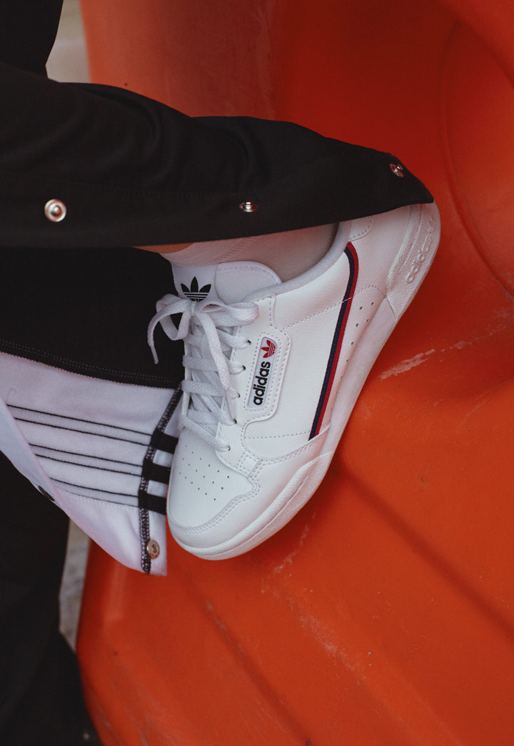 adidas Originals Continental 80 — boty — look 2