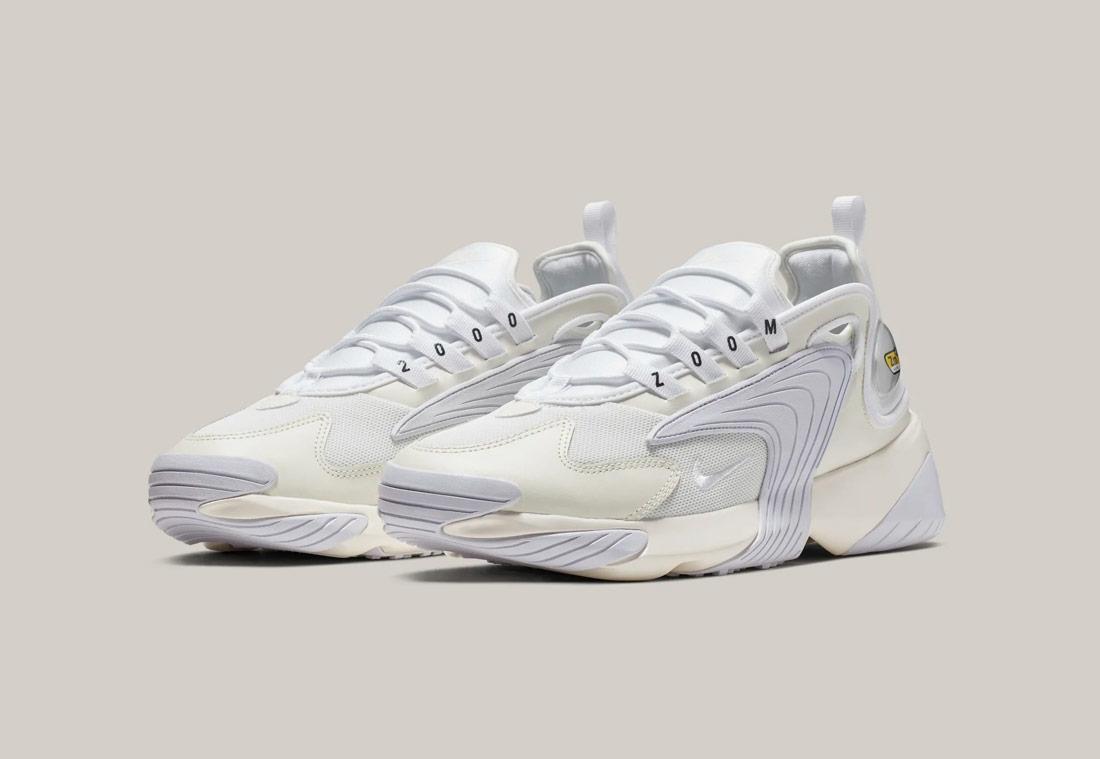 Nike Zoom 2K — pánské boty — smetanově bílé — sneakers