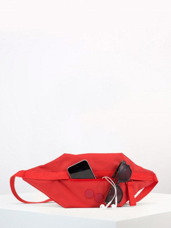 pinqponq Brik — Sharp Ruby — Changeant — červená ledvinka